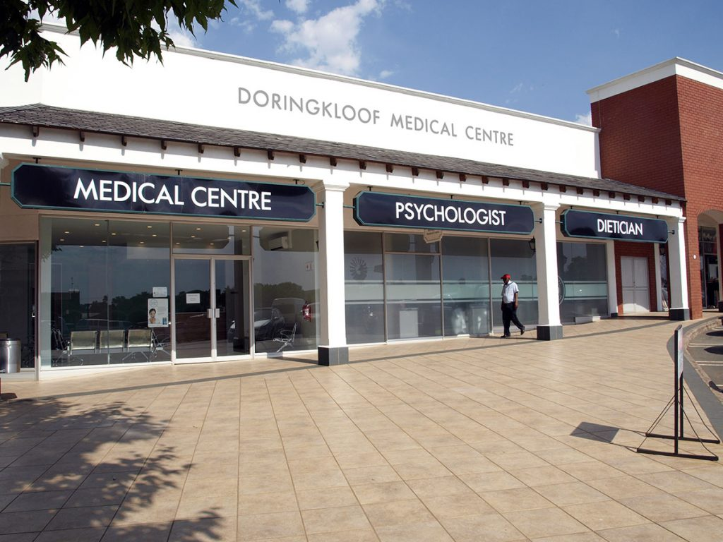 Doringkloof mall medical